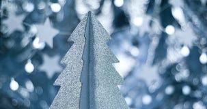 Decoraciones elegantes hermosas de la Navidad Imagenes de archivo