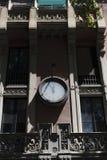Decoraciones españolas de la construcción de viviendas imagen de archivo libre de regalías