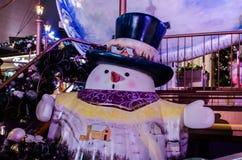 Decoraciones exteriores de la Navidad Fotos de archivo libres de regalías