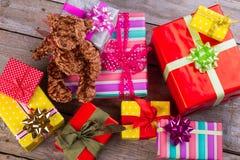 Decoraciones festivas hermosas Imagen de archivo libre de regalías