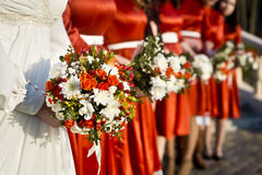 Decoraciones florales Imagen de archivo