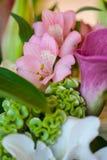 Decoraciones florales Imagenes de archivo
