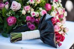 Decoraciones florales Fotos de archivo