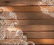 Decoraciones florales para el diseño hermoso del día de fiesta Fotos de archivo libres de regalías
