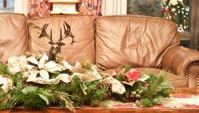 Decoraciones hechas a mano de los chirstmas Fotos de archivo libres de regalías
