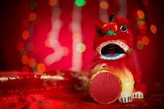 Decoraciones lunares del Año Nuevo o del festival de primavera Foto de archivo libre de regalías