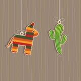 Decoraciones mexicanas Fotografía de archivo libre de regalías