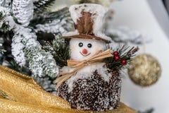 Decoraciones modernas de la Navidad foto de archivo libre de regalías