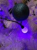 Decoraciones newyear de la Navidad de las guirnaldas de la Navidad fotografía de archivo libre de regalías