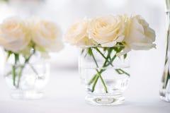 Decoraciones para la ceremonia de boda Florece el primer Fotos de archivo libres de regalías