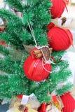 Decoraciones para la Navidad Fotografía de archivo libre de regalías