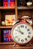 Decoraciones para la Navidad Fotos de archivo libres de regalías