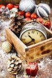 Decoraciones para la Navidad Imagen de archivo