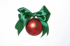 Decoraciones para los árboles de navidad imagen de archivo libre de regalías