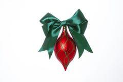 Decoraciones para los árboles de navidad imagen de archivo