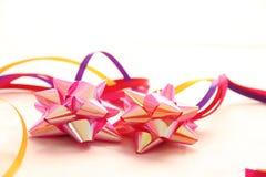 Decoraciones para los acontecimientos de la Navidad y de la tarjeta del día de San Valentín Fotografía de archivo libre de regalías