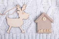 Decoraciones por la Navidad y el Año Nuevo Imagen de archivo