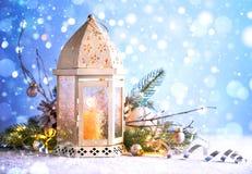 Decoraciones por la Navidad y el Año Nuevo Fotos de archivo libres de regalías