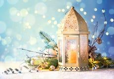 Decoraciones por la Navidad y el Año Nuevo Fotos de archivo