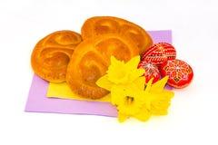 Decoraciones tradicionales de checo Pascua foto de archivo libre de regalías
