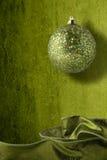 Decoraciones verdes Fotos de archivo libres de regalías