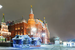 Decoraciones y arquitectura de Moscú Imagen de archivo