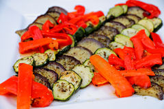 Decorado italien a salada Imagem de Stock