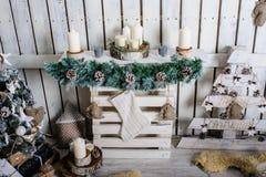 Decorado para o Natal Imagens de Stock Royalty Free