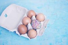 Decorado um ovo - tema da Páscoa Imagem de Stock Royalty Free