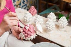 Decorador da cerâmica de Caltagirone Imagem de Stock