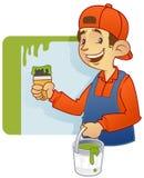 Decorador de casa - pintor ilustração do vetor