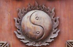 Decorações chinesas clássicas da mobília Foto de Stock Royalty Free