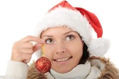 Decorações da árvore de Natal Foto de Stock Royalty Free