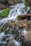Decorah Iowa vattenfall Fotografering för Bildbyråer