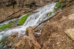 Decorah Iowa Waterfall Royalty Free Stock Photography