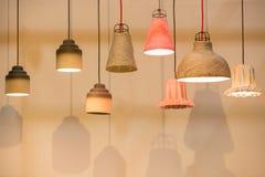 Decorando lâmpadas da lanterna Imagem de Stock