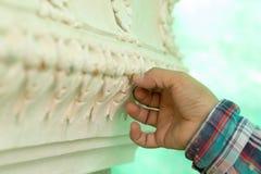 Decorando o templo Fotografia de Stock Royalty Free