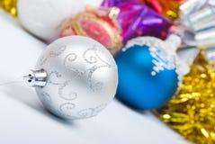 Decoração da árvore de Natal Imagens de Stock