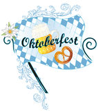 Decoração de Oktoberfest Fotos de Stock