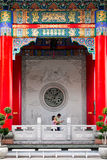 Decorate of chainese temple Stock Photos
