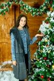 Decorate Christmas tree Royalty Free Stock Photo