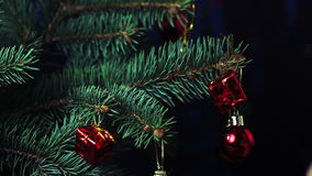 Decorate the Christmas Tree Christmas Toy stock footage