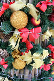 Decorate the Christmas tree. Royalty Free Stock Photo