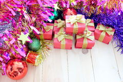 Decorate Christmas Royalty Free Stock Photography