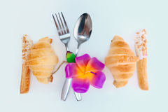 Decorate food design for love Stock Photos