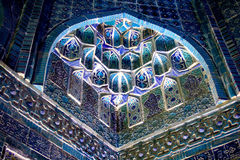 Decorate in Mosque. There are lots of mosque in Samarkand,Uzbekistan stock photography