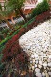 Decorate stone for garden in Chacheongsao Stock Photos