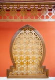 Decorated arch  in arab style Royalty Free Stock Image