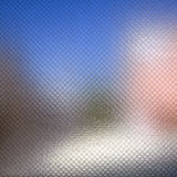 Decorated Architectural Glass Material Royalty Free Stock Photo