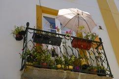 Decorated balcony Royalty Free Stock Photography